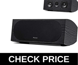 Pioneer sp-c22 center channel speaker review