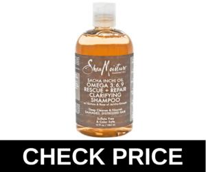 Shea Moisture U-HC-122 Clarifying Shampoo Review